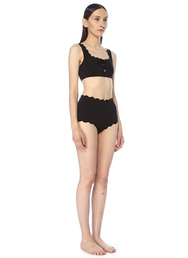 Marysia Bikini Alt Siyah